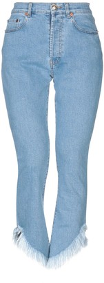 Couture FORTE DEI MARMI Denim pants - Item 42696297BA