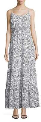 MICHAEL Michael Kors Printed Strappy Maxi Dress