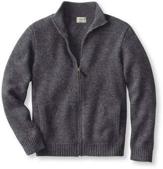 L.L. Bean L.L.Bean Classic Ragg Wool Sweater, Full-Zip
