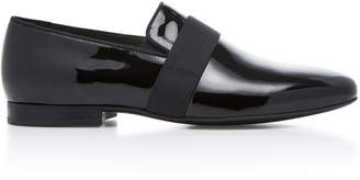 Lanvin Patent Leather Evening Slippers