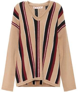 Marni Striped wool sweater