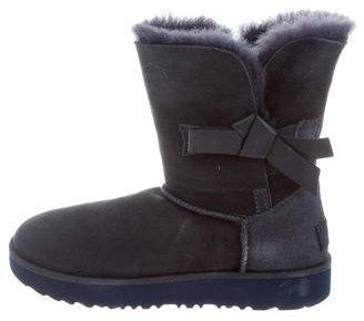 UGG Australia Classic Knot Ankle Boots $125 thestylecure.com