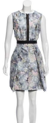 Victoria Beckham Victoria Silk Floral Patterned Dress