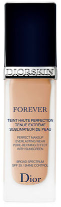 Dior Diorskin Forever Perfect Foundation Broad Spectrum SPF 35, 1.0 oz. $50 thestylecure.com