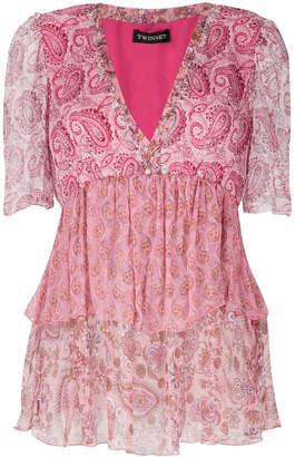 Twin-Set paisley print blouse