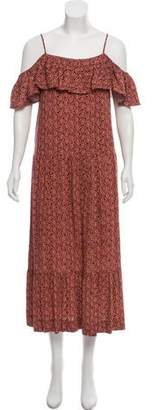 Rebecca Minkoff Floral Cold Shoulder Dress