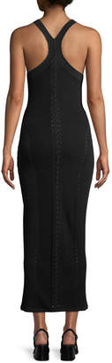Rag & Bone Brandy Sleeveless Fitted Knit Maxi Dress