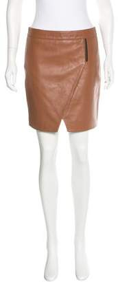 Mason Leather Mini Skirt