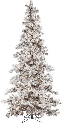 Sterling Tree Company 7.5Ft Heavily Flocked Layered Spruce