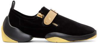 Giuseppe Zanotti Black Light Jump Gruber Sneakers