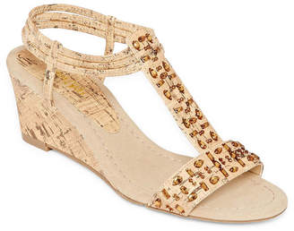 East Fifth east 5th Finley Womens Wedge Sandals