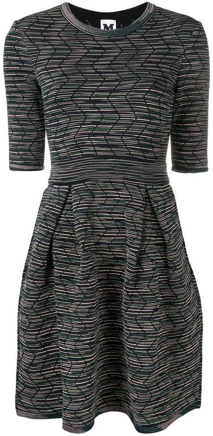 fitted round neck dress