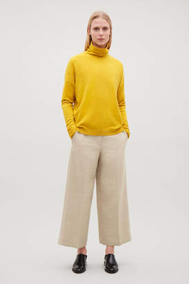 Cos Roll-neck cashmere jumper