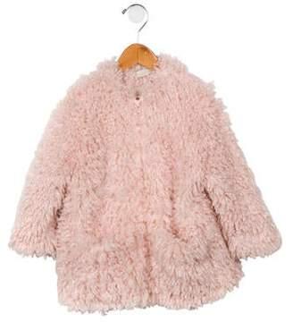 c61a5e993333 Stella McCartney Girls' Faux Fur Coat