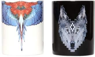 Marcelo Burlon County of Milan Seletti Wolf & Wing Candle Set