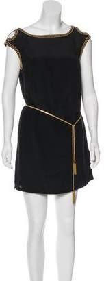 Magaschoni Silk Sleeveless Dress
