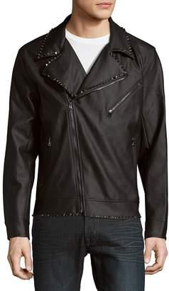 Standard Issue NYC Men's Studded Moto Jacket