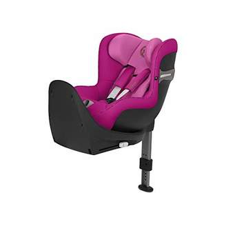 Camilla And Marc CYBEX Gold Sirona S i-Size Car Seat with 360° Swivel Mechanism and ISOFIX, From Birth to approx. 4 Years, Up to Max. 105 cm Height, Fancy Pink