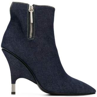 Giuseppe Zanotti Design denim booties
