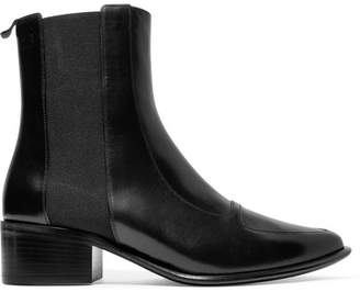 Loewe Leather Chelsea Boots - Black