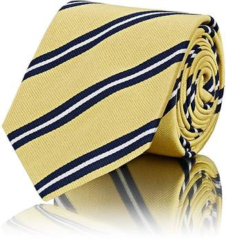 Barneys New York Men's Striped Silk Faille Necktie