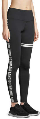 Alo Yoga Airbrush Graphic High-Waist Sport Leggings