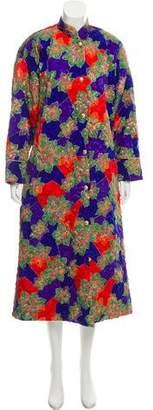 Christian Dior Long Floral Jacket