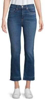 Rag & Bone Hana High-Rise Cropped Jeans