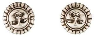 Kieselstein-Cord Sun Clip-On Earrings