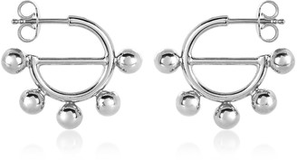 J.W.Anderson Disc Mini Hoop Earrings