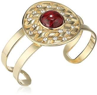 "Ben-Amun Jewelry ""Dutchess"" Statement Cuff Bracelet"