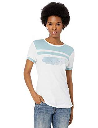 Fox Junior's Talladega Short Sleeve Ringer Crew T-Shirt
