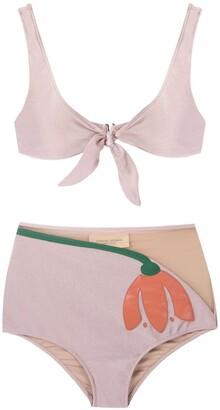 Adriana Degreas Tulipa hot pants bikini set