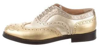 Church's Bunwood Metallic Oxfords