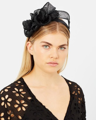 Flower Sinamay Crown Fascinator