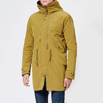 Pretty Green Men's Zip Through Hooded Parka Jacket