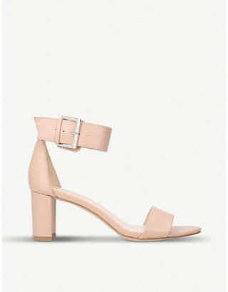 Nine West Playdown faux-leather heeled sandals
