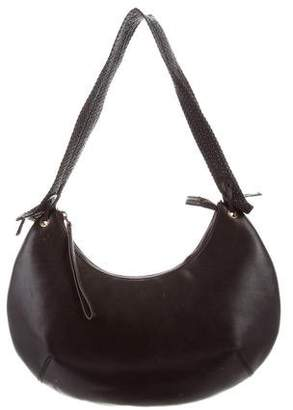 Gucci Vintage Leather Crescent Hobo