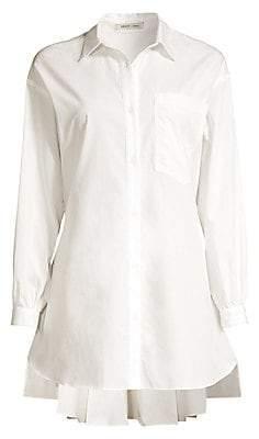 Sandy Liang Women's Ums Cotton Shirtdress