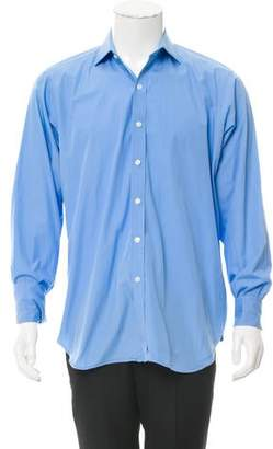 Ralph Lauren Purple Label French Cuff Button-Up Shirt