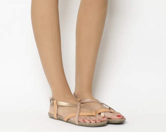 4cf4d87b755f Blowfish Granola B Sandals Rose Gold Dye Cut
