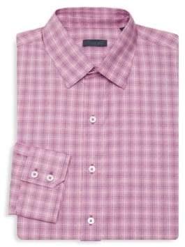 Zachary Prell Duran Check Dress Shirt