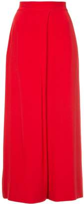 LAYEUR high waisted palazzo trousers