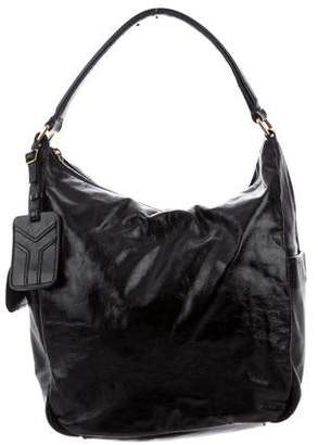 Saint Laurent Patent Leather Small Multy Hobo