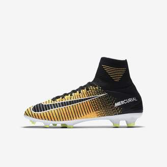 Nike Jr. Mercurial Superfly V Dynamic Fit Big Kids' Firm-Ground Soccer Cleat
