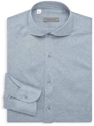 Corneliani Check Dress Shirt