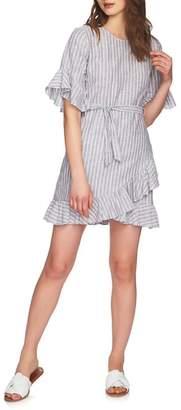 1 STATE 1.STATE Ruffle Faux Wrap Dress