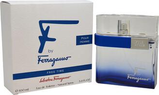 Salvatore Ferragamo Men's 3.4Oz F By Free Time Eau De Toilette Spray