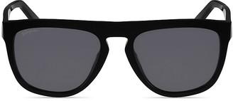 Salvatore Ferragamo SF826SPM Sunglasses, 57mm $260 thestylecure.com