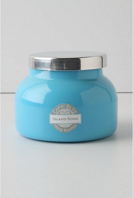Capri Blue Jar Candle, Turquoise